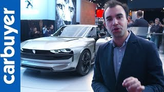 Peugeot E-Legend concept – Paris Motor Show 2018 – Carbuyer
