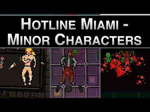 Hotline Miami - Minor Characters