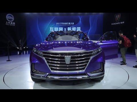 Топ 5 Кроссоверов Китайского автосалона 2017.Top 5 Concept Crossover Shanghai 2017.