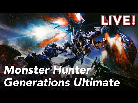 Monster Hunter Generations Ultimate Demo with Heather and Paul | 8/16/18