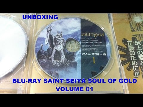Unboxing: Bluray Saint Seiya Soul of Gold Volume 01