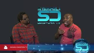 Simon Hingi akiwa na SajoSajo Kwenye Swahili Diaspora Tv Show