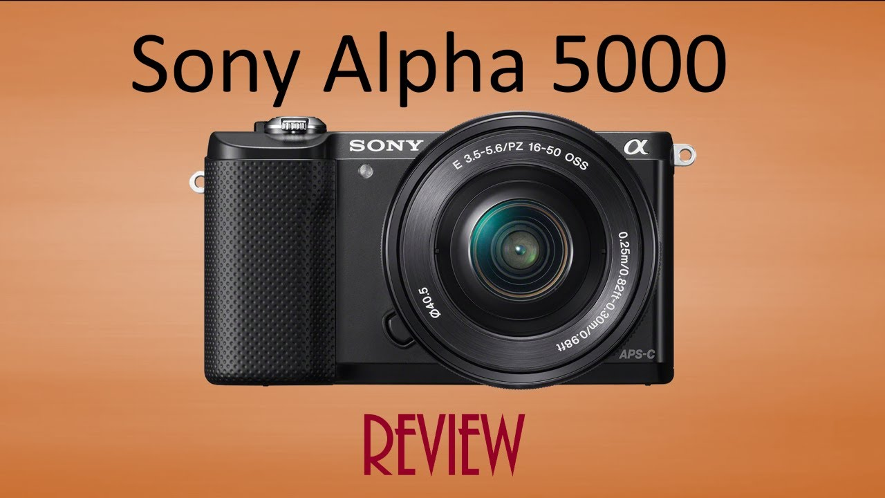sony alpha 5000 review youtube. Black Bedroom Furniture Sets. Home Design Ideas