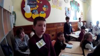 Інтегрований урок з інформатики та позакласного читання у 4 класі