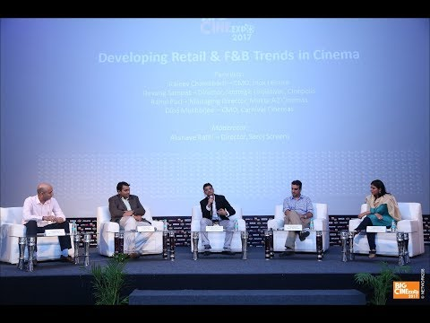 Big Cine Expo 2017 ::: Developing Retail & F&B Trends in Cinema