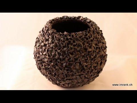 keramik kugelvase youtube. Black Bedroom Furniture Sets. Home Design Ideas