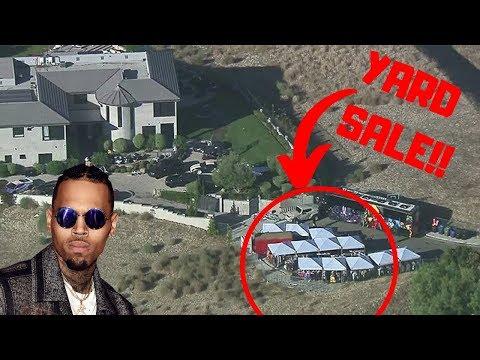 SPENDING $10,000 AT CHRIS BROWNS YARD SALE!!