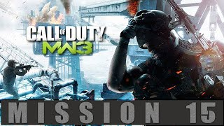 Call of Duty Modern Warfare 3 Mission 15 Down The Rabbit Hole Gameplay Walkthrough [PC]