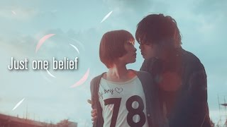 Aki x Riko ~ Just one belief˙·٠•●๑The Girl Who Loved Lies