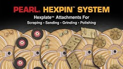 Hexpin® - Floor Preparation System - Only from Pearl Abrasive Co.