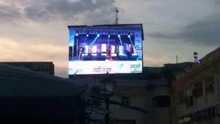 Ganjing Carnival LIVE On LED Screen By ORIGINS Advertising Pvt. Ltd.