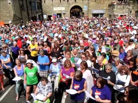 We Shall Overcome, Mass Sing Street Choirs 2014