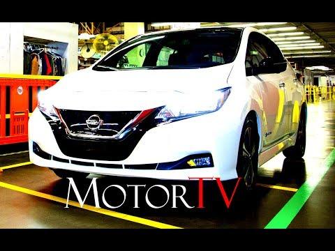 CAR FACTORY : 2018 NISSAN LEAF PRODUCTION l  Job One Ceremon & Assembly Line l Tennessy Plant U.S