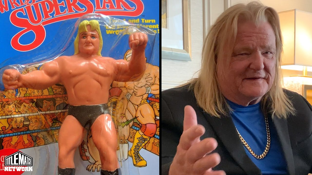 Greg Valentine - How Much My WWF Wrestling Figures Pay in Royalties