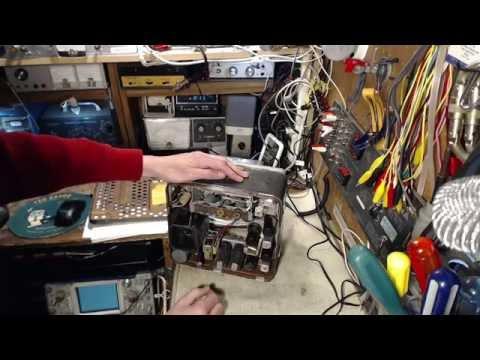1952  GM Autoradio Model 510 Video #1 - Tub 'O Radios