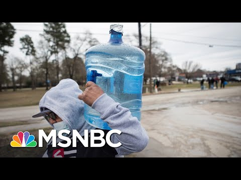 People In Texas Are Boiling Snow To Get Clean Drinking Water   The 11th Hour   MSNBC