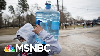 People In Texas Are Boiling Snow To Get Clean Drinking Water | The 11th Hour | MSNBC