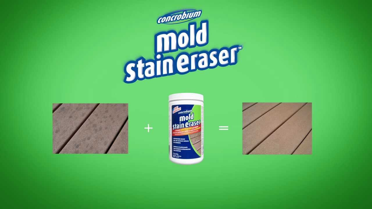 How to get mold out of wood - How To Get Rid Of Black Mold Stains New Concrobium Mold Stain Eraser Us Youtube