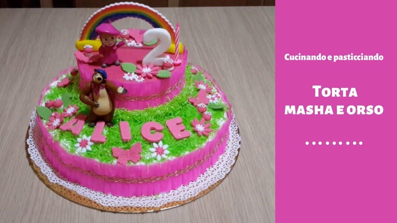 Torta Masha E Orso Youtube