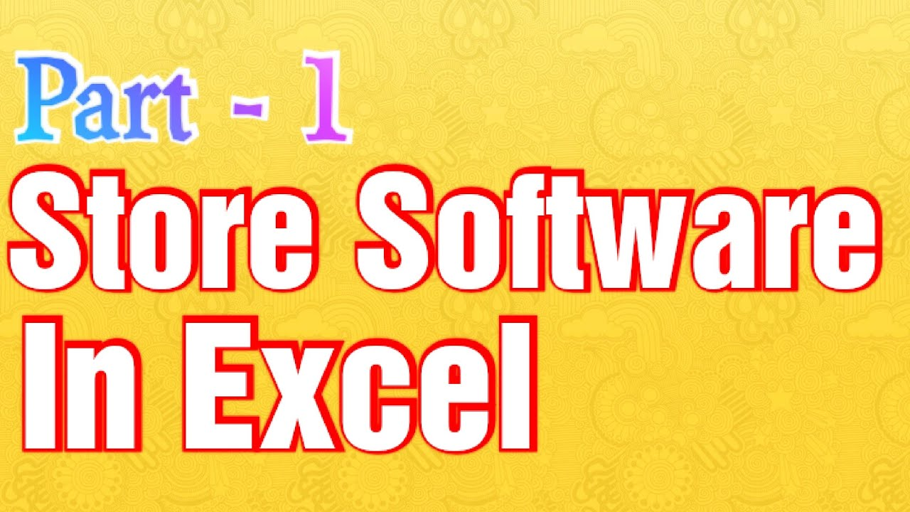 Store Software - How To Make Stock Maintain software in ...
