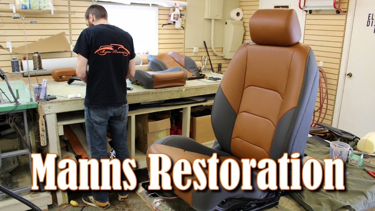 Manns Restoration Upholstery Shop Tour