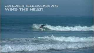 Patrick Gudauskas Wins - Trestles World Tour Surfing Event 2013 - Round 2 Heat 5