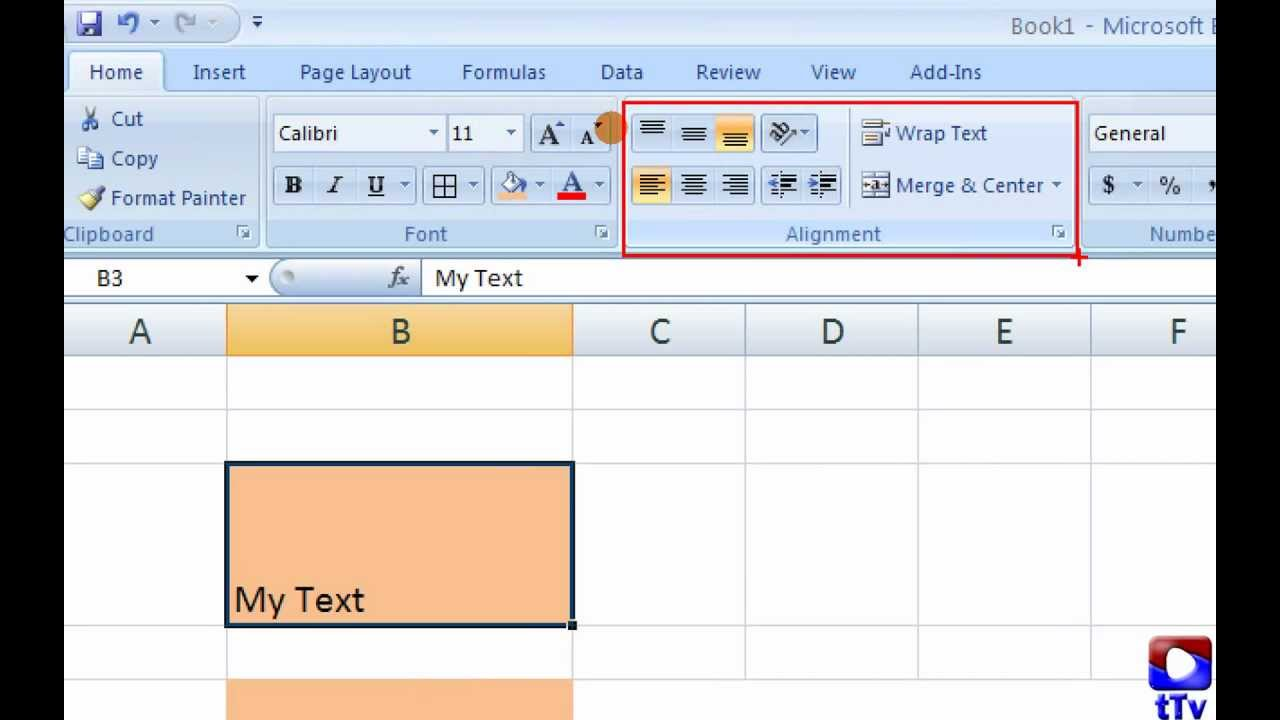 Excel Alignment Merge Unmerge Wrap Text YouTube – Center Worksheet Excel