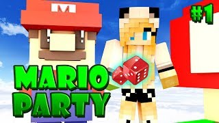 мАРИО ПАТИ НА ПИРАТКЕ! - Minecraft Mario Party TeslaCraft #1