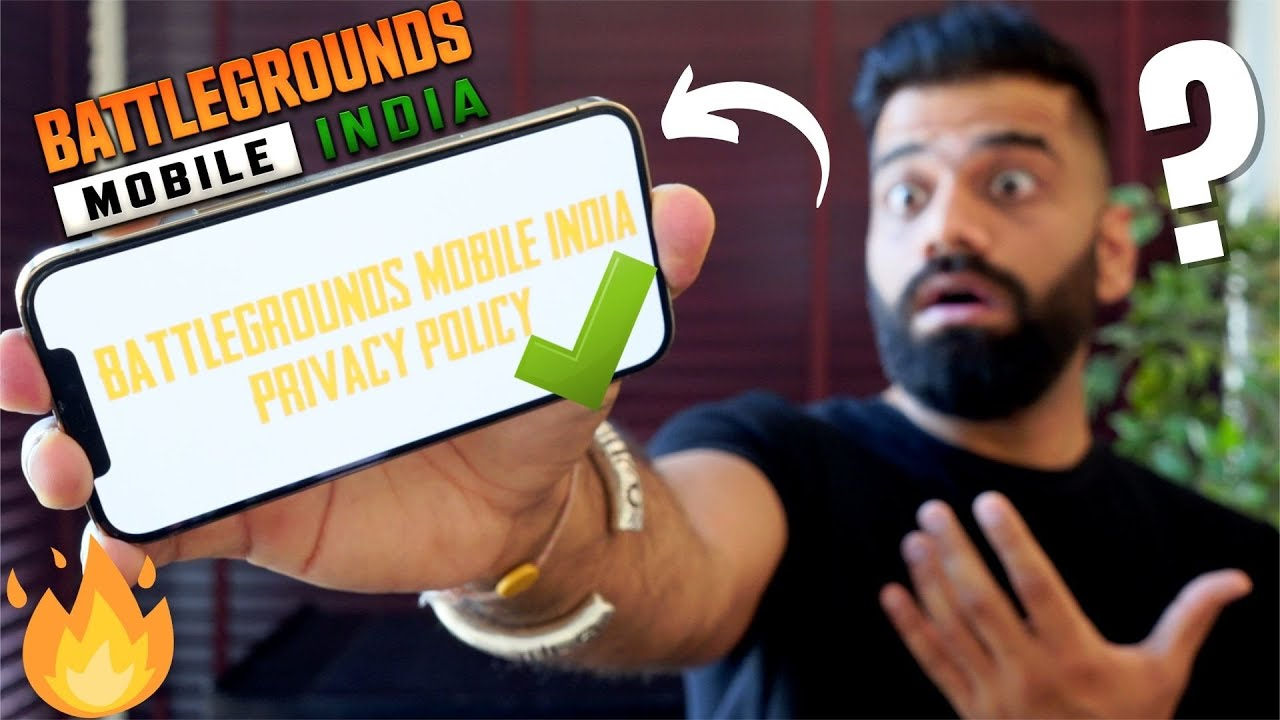BATTLEGROUNDS MOBILE INDIA Shocking Updates - PRIVACY POLICY EXPLAINED🔥🔥🔥