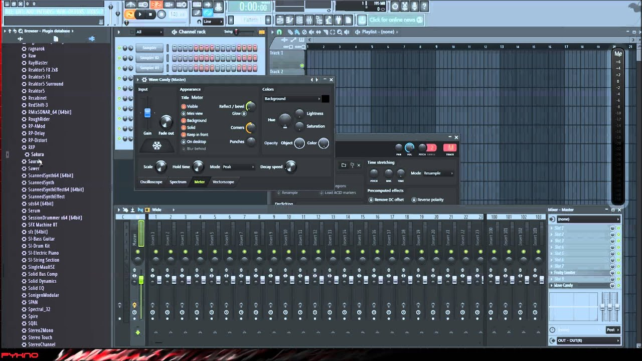 how to create an fl studio template