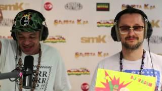 JAMALSKI and DJ VADIM Freestyle @ Selecta Kza Reggae Radio Show 2014
