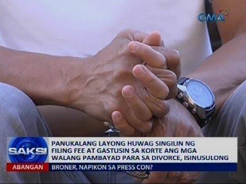 Simbahang katolika sa Pilipinas, tutol pa rin sa diborsyo