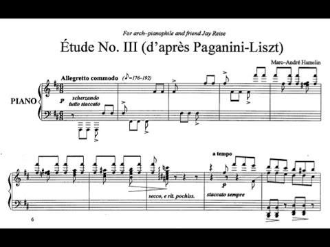 Marc-André Hamelin - Étude No. 3 in B minor 'd'après Paganini-Liszt'
