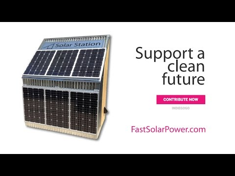 Solar Station: A revolution in solar power