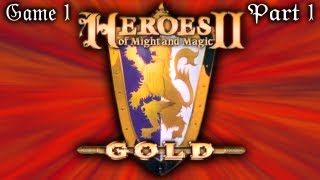 YE OLDE TURN BASED STRATEGY - Heroes of Might and Magic II Gold - (Game 1, Part 1)