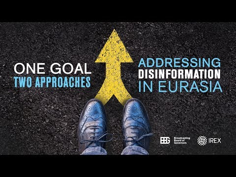One goal, two approaches: Addressing disinformation in Euras