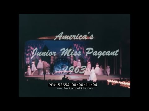 1963 AMERICA'S JUNIOR MISS PAGEANT w/ DIANE SAWYER  MOBILE ALABAMA 52654