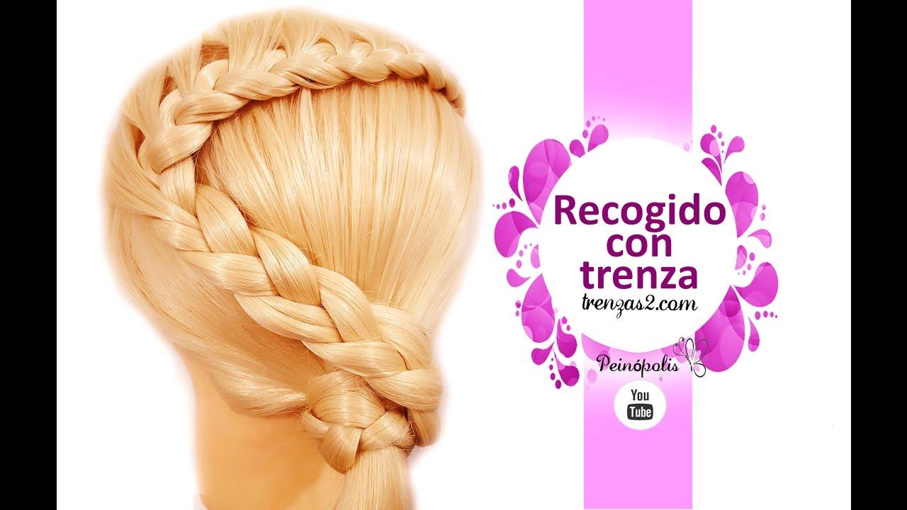 Peinados Faciles y Rapidos para niñas con Cabello Largo Trenza de lado 2017,01