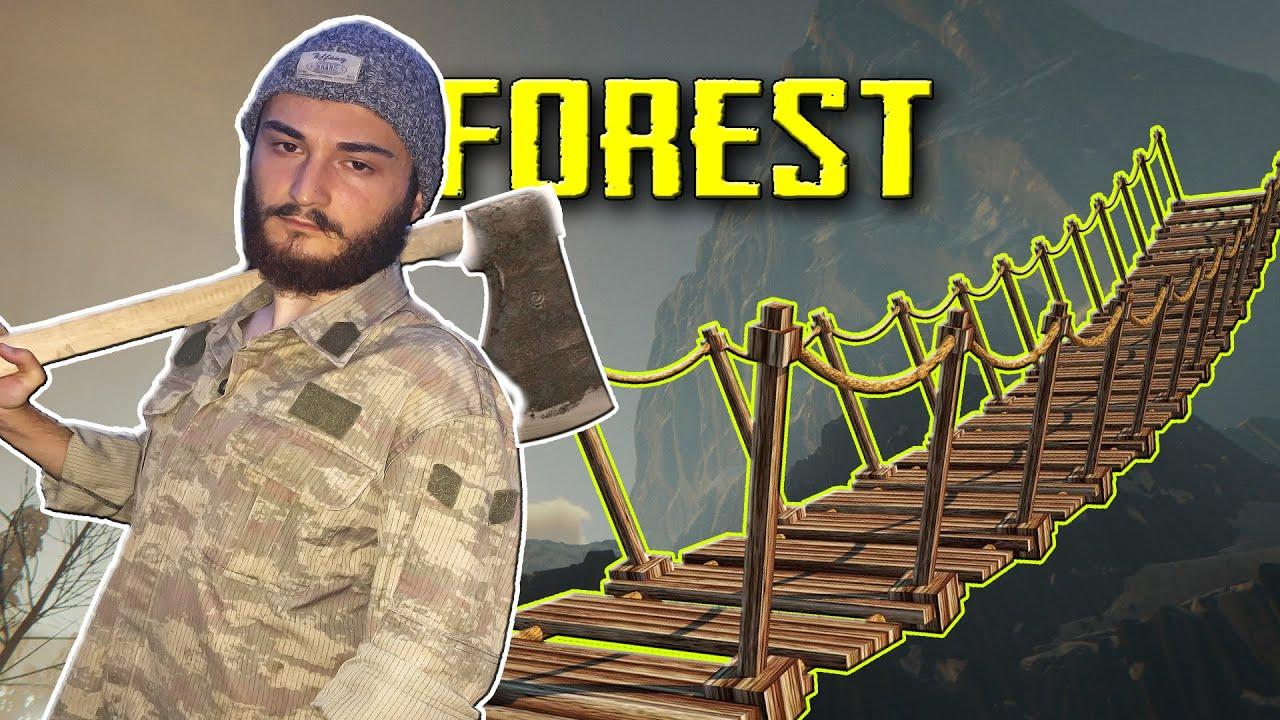 The Forest | UZUN KÖPRÜ YAPTIK - Bölüm 4
