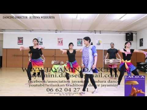 Sri lankan traditional dance godasaraba 11