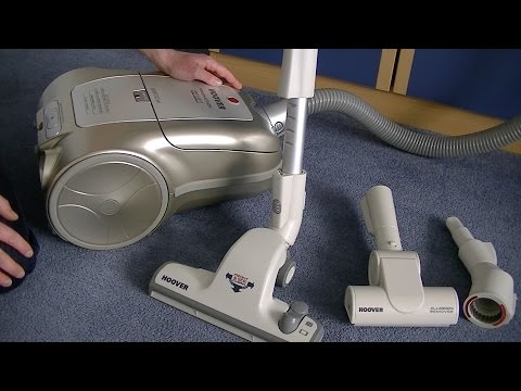 Hoover Freemotion 2200 Watt Cylinder Vacuum Cleaner Full Demonstration & Review