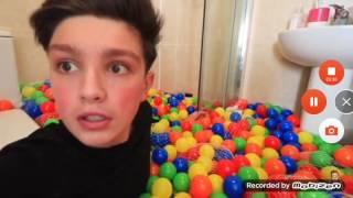Crazy Indoor prank - On My Mom - plastic balls