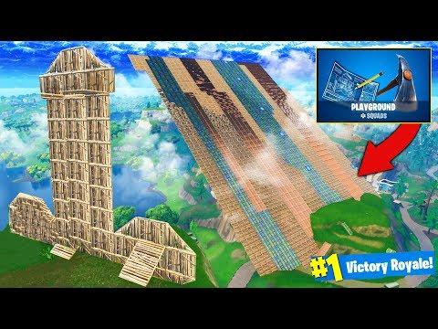 *NEW* PLAYGROUND SANDBOX MODE in Fortnite Battle Royale