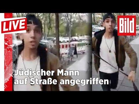 Antisemitischer Übergriff in Berlin - Jetzt spricht das Opfer - BILD Live 18.04.18