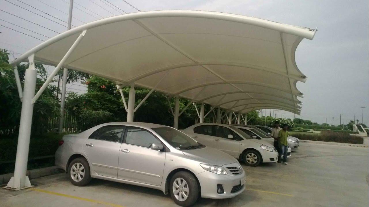 Design of car parking - Fabric Car Parking Construction Luxury Unique Flexible Price Durable Best Quality Latest Design