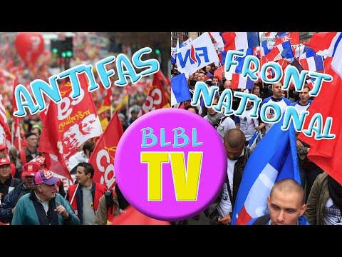 Antifas + Front National = BLBLBLBL