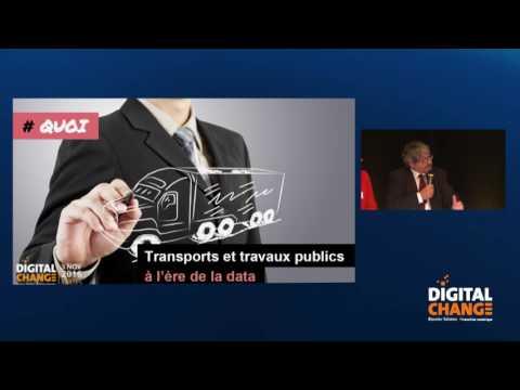 Jean-Christophe Louvet, Groupe Luc Durand - Transports et travaux publics à l'ère de la data