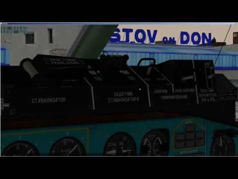 X-plane | Felis | Tu-154M | Ту -154М | Подробный запуск | полет по НВУ| URRR - UUEE