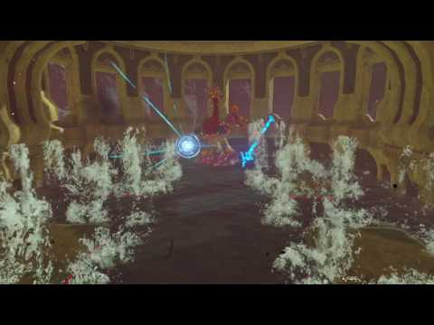 How to defeat Vah Ruta Elephant dungeon boss  Spoilers  Breath of the Wild
