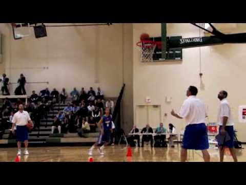 NBA Draft Workout Stephen Curry {HQ}